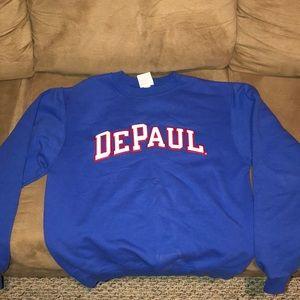 DePaul Crew Neck sweatshirt